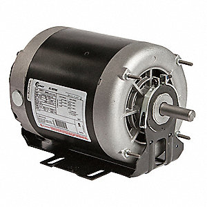 1/2, 1/4 HP Belt Drive Motor, 3-Phase, 1745/1140 Nameplate RPM, 460 Voltage, Frame 56Y