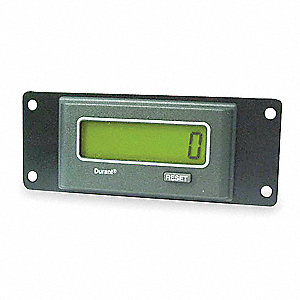 Electronic Totalizer, Number of Digits: 8, Easy to Read LCD Display, Max. Counts per Second: 10,000