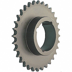 Taper-Lock® Bushed Bore Roller Chain Sprocket, For Industry Chain Size: 50, 15 Number of Teeth