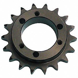 Single Strand Sprocket,6.870in OD,#60