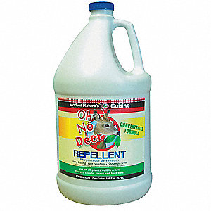Deer Repellent, Used For Repelling Deer and Other Animals from Flowers, Vegetables, Crops, Shrubs an
