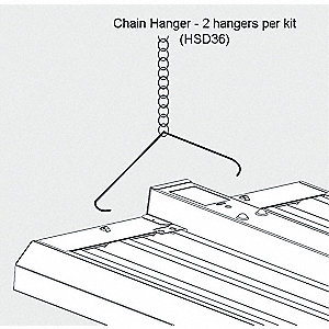 Chain Hanging Kit,F/FGB Highbay Fixtures