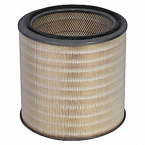 Filter Cartridge,WeldVent; For Use With Fume Extractors 45WD24, 45WD25, 5YAJ4, 5YAJ5