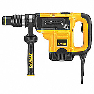 SDS Max Rotary Hammer Kit, 12 Amps, 3300 Blows per Minute, 120 Voltage