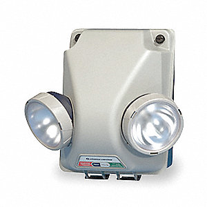 "12"" x 9"" x 12-1/2"" Krypton Emergency Light, Wall Mounting"