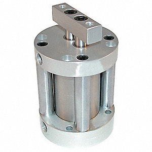 "2"" Air Cylinder Bore Dia. with 3/4"" Stroke Stainless Steel , Basic Mounted Air Cylinder"