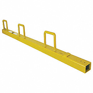 Universal Guardrail Post,52 In. H
