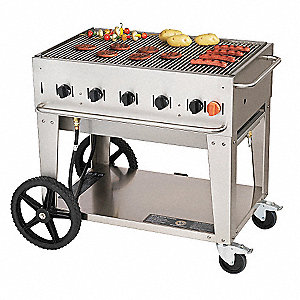 79500 BtuH Stainless Steel Gas Grill with One 20 lb. Tank