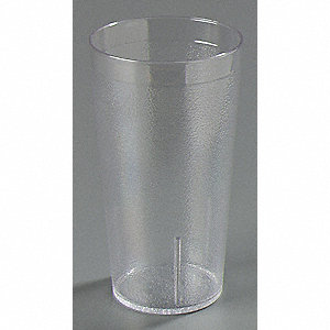 Tumbler, Stackable, 12 Oz, Clear, PK72