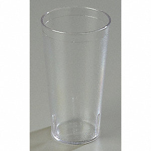 Tumbler,Stackable,20 Oz,Clear,PK72
