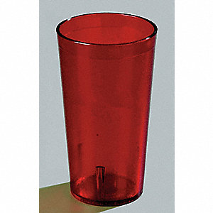 Tumbler,Stackable,20 Oz,Ruby,PK72