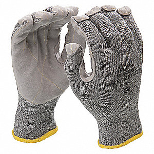 GLOVES KROMET LEATHER PALM SZ 8