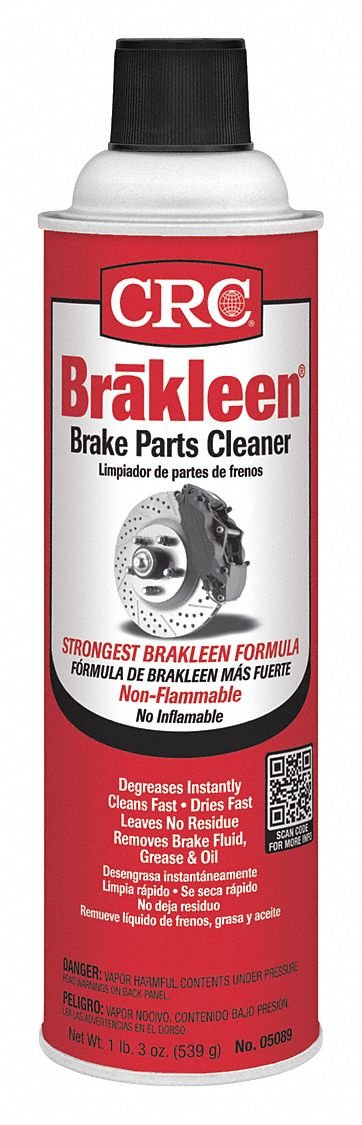 Brake Cleaner and Degreaser;Aerosol Can;19 oz;Non Flammable;Chlorinated