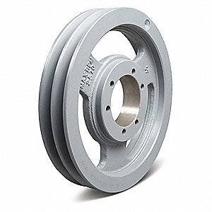 Quick Detachable Bushed Bore Standard V-Belt Pulley, For V-Belt Section: 4L, A, AX, B, BX
