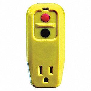 Power First Plug Gfci Single Outlet 120v15a Portable Gfci