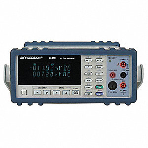 Bench Multimeter,4 1/2 Digit,True RMS