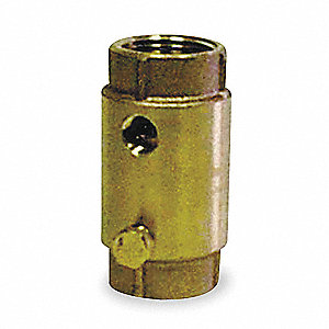 Check Valve,Brass,1 In.,FNPT