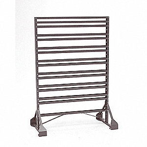 "36"" x 20"" x 53"" Double Sided Pick Rack with 500 lb. Load Capacity, Blue"