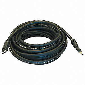 35 ft. Standard Speed HDMI Cable, Black&#x3b; For Use With Audio-Visual Equipment