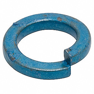 Split Lock Washer,Bolt M6,Steel,PK100