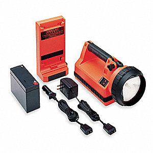 LanternHalogen, Plastic, Maximum Lumens Output: 150, Orange, 11.50""