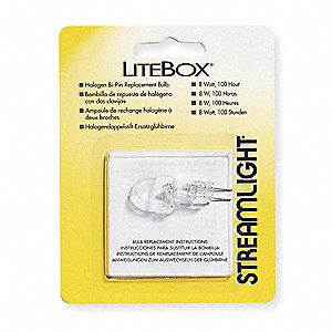 BULB 8 W BI-PIN FOR LITEBOX LANTERN