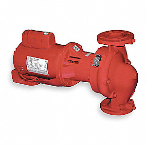3/4 HP Cast Iron 3-Piece Maintenance Free Hot Water Circulator Pump