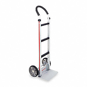 Modular Hand Truck, Continuous Frame Flow-Back, 500 lb. Overall Height 48""
