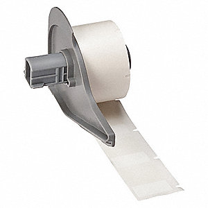 "White on Translucent, 250 Labels per Roll  1-1/4"" H x 1"" W, 1 EA"