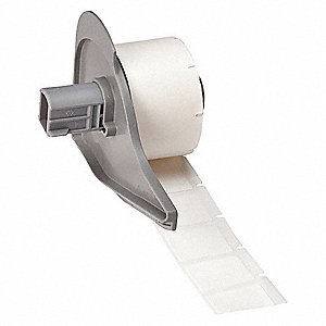 "White, 250 Labels per Roll  1"" H x 3/4"" W, 1 EA"
