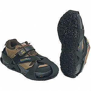 Light Duty Antifatigue Soles, Men's Size 7 to 10, Black