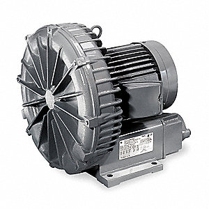 "1.00 Regenerative Blower 1 Phase, 115/230 Voltage, 1-1/2"" (F)NPT Inlet Size"