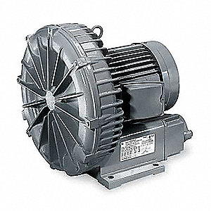 "0.17 Regenerative Blower 3 Phase, 200-230/460 Voltage, 1"" (F)NPT Inlet Size"