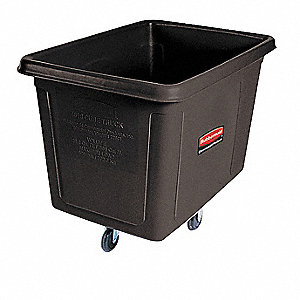 Black Cube Truck, 20.0 cu. ft. Capacity, 600 lb. Load Capacity