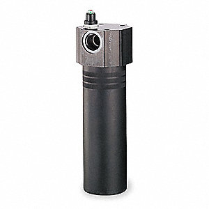 "11.44"" x 4.00"" Double Length Anodized Aluminum Hydraulic Pressure Filter"
