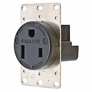 hubbell wiring device kellems 50a industrial environments receptacle rh grainger com Hubbell Floor Receptacles Hubbell Welding Receptacle