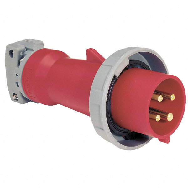 hubbell wiring device-kellems iec pin and sleeve plug, red ... 480v welder plug wiring diagram