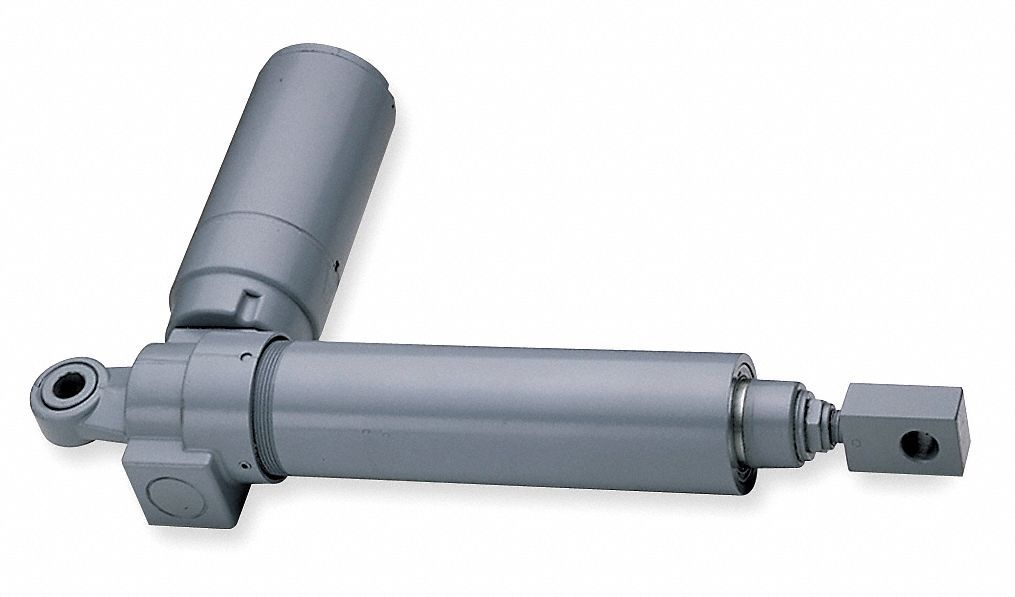 Linear Actuator, 500 lb Rated Load, 6 in Stroke Length, 42 in/min Speed @ Rated Load