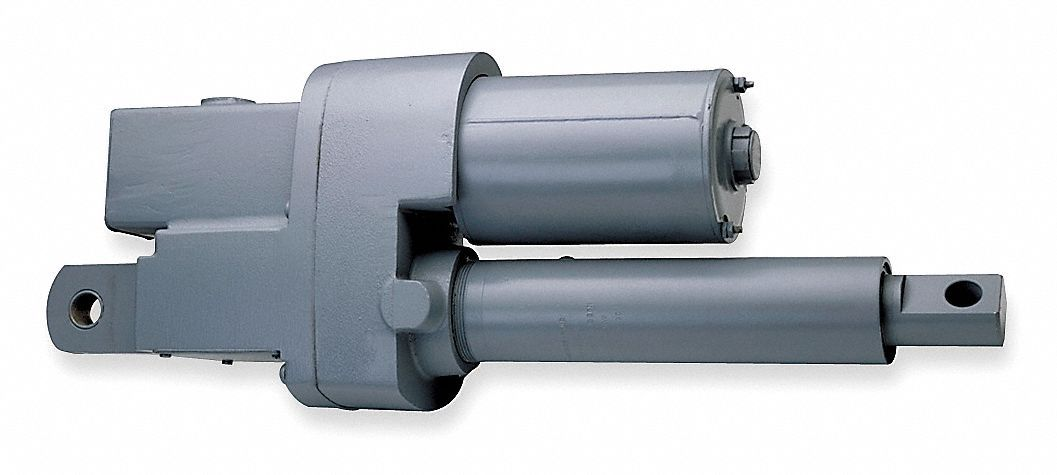 Linear Actuator, 1,500 lb Rated Load, 12 in Stroke Length, 50 in/min Speed @ Rated Load