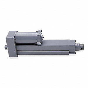 "Linear Actuator, 100 lb. Rated Load, 4"" Stroke Length, 42 in./min. Speed @ Rated Load"