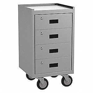 Mobile Workbench Cabinet,1200 lb.,19 In.