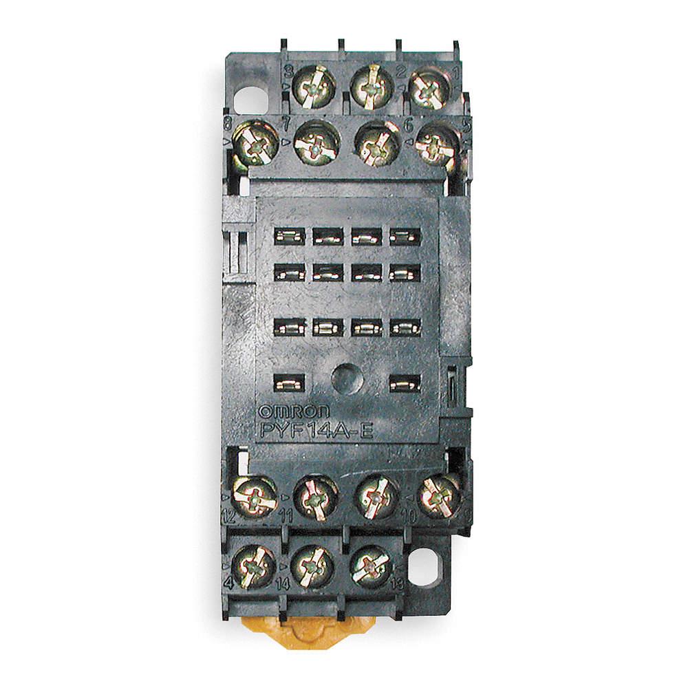 Relay Socket,Finger Safe,Square,14 Pin PYF14AE | eBay