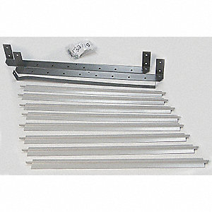 Vertical Louver Kits, For Use With Mfr. No. 4DG12, 4DG13, 4DG32, 4DG33