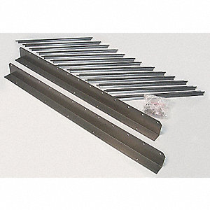 Vertical Louver Kits, For Use With Mfr. No. 2HYW3, 4DG20, 4DG21, 4DG40, 4DG41