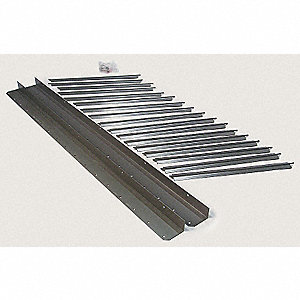 Vertical Louver Kits, For Use With Mfr. No. 2HYW4, 4DG24, 4DG25, 4DG44, 4DG45