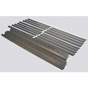 Vertical Louver Kits, For Use With Mfr. No. 4LX63, 4LX64, 4LX65, 4LX66, 4LX67, 4LX68