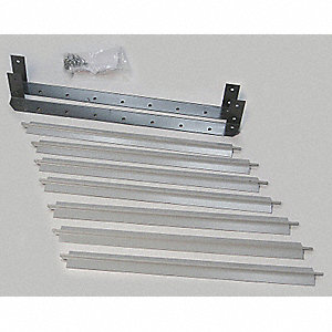 Vertical Louver Kits, For Use With Mfr. No. 5PV49, 5PV50