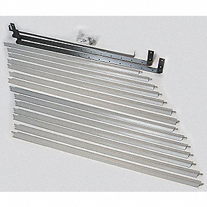Vertical Louver Kits, For Use With Mfr. No. 5PV45, 1EBC4