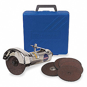 Light Duty Air Cut Off Tool Kit, Wheel Dia.: 3""
