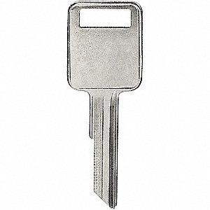 Key Blanks and Heads - Key Control & Identification